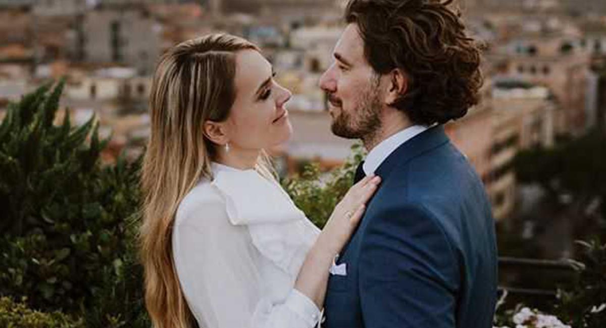 Magdalena Lamparska - zdjęcie ze ślubu z okazji rocznicy