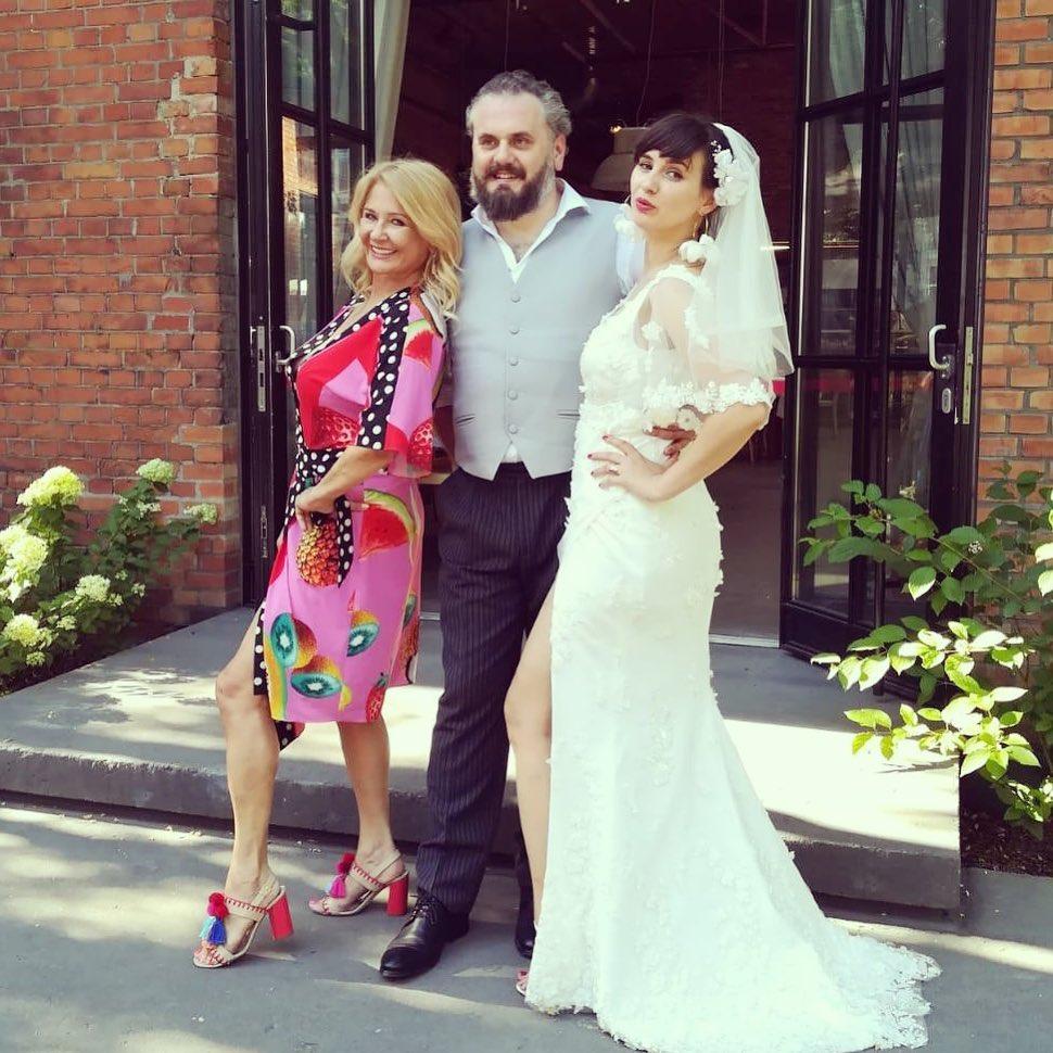 Majka Jeżowska - ślub syna