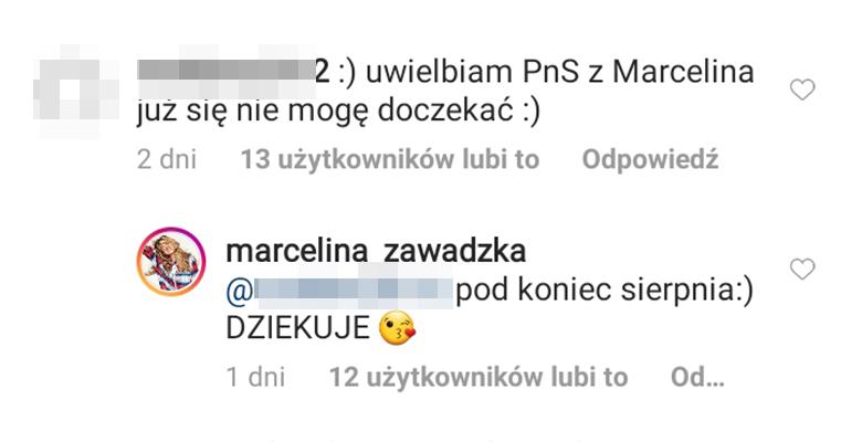 Marcelina Zawadzka wraca do Pytania na śniadanie
