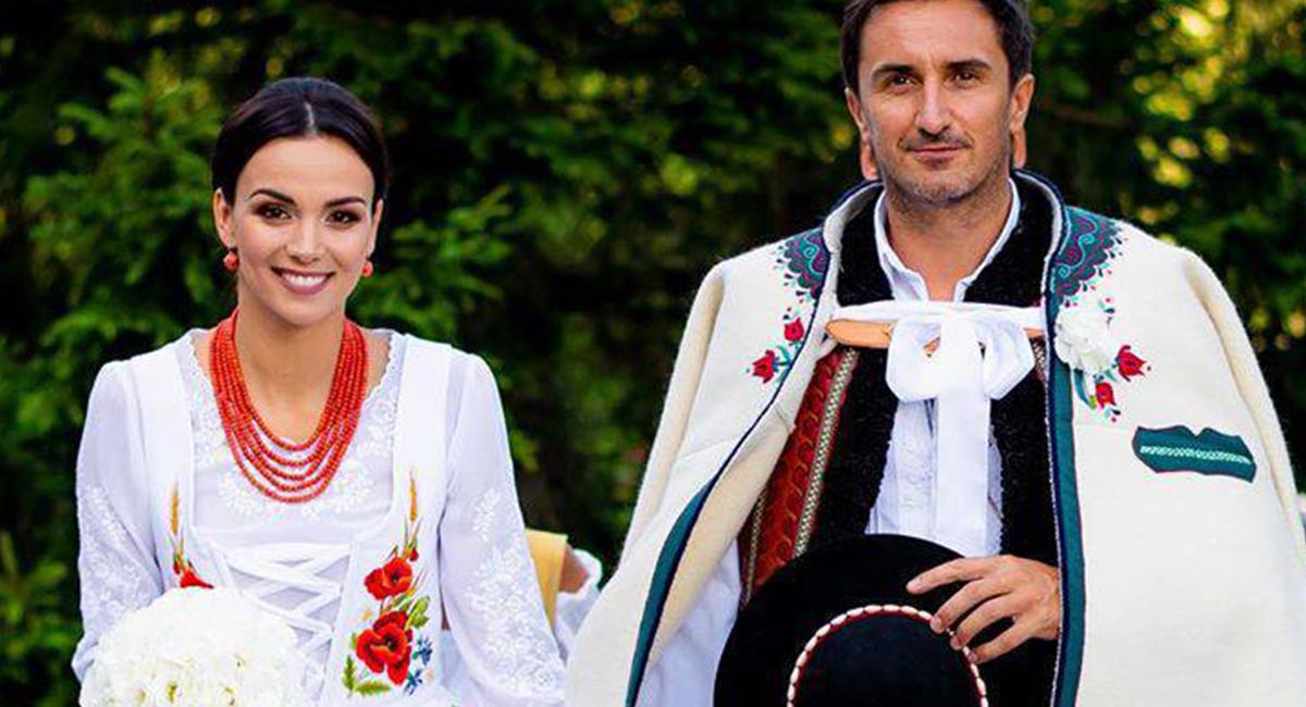 Paulina Krupińska i Sebastian Karpiel-Bułecka - ślub