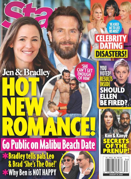 Bradley Cooper i Jennifer Garner na okładce Star