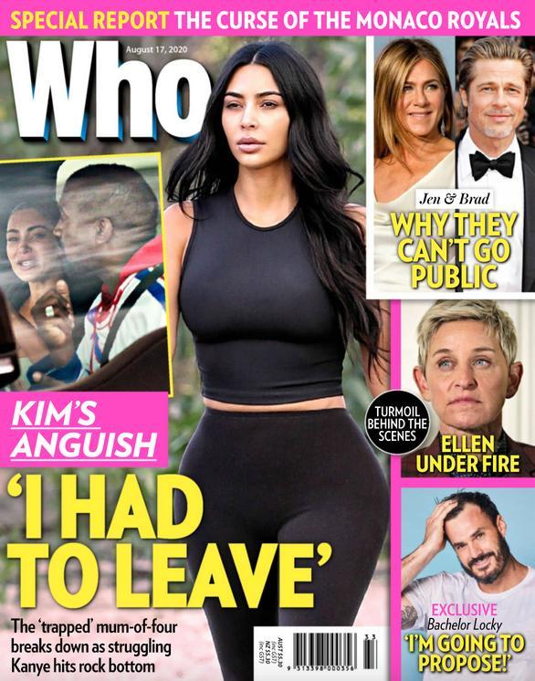 Kim Kardashian na okładce WHO