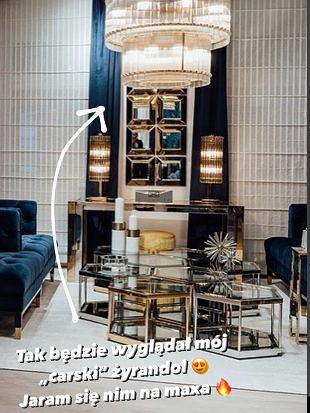 Blanka Lipińska - nowe mieszkanie