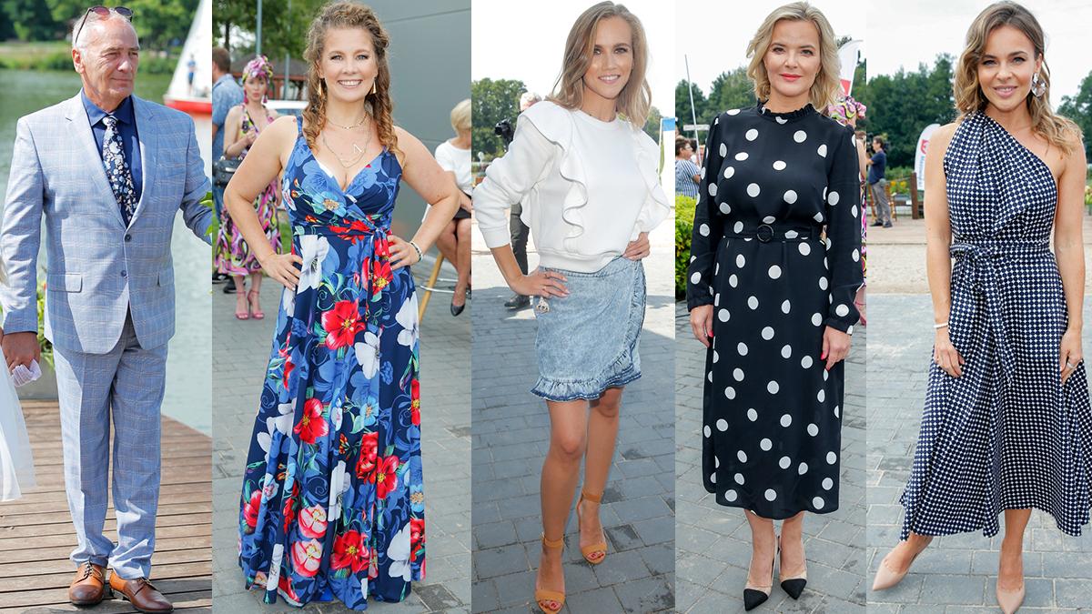 Gwiazdy na charytatywnym pokazie mody