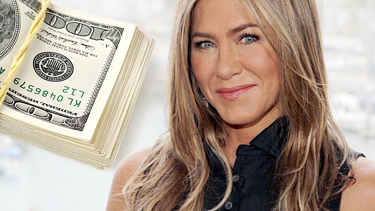 Jennifer Aniston zarobki