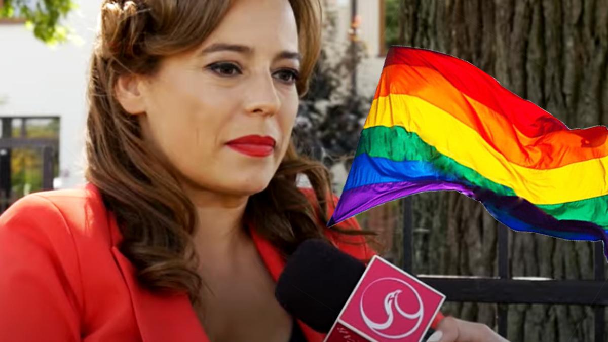 Anna Mucha o LGBT