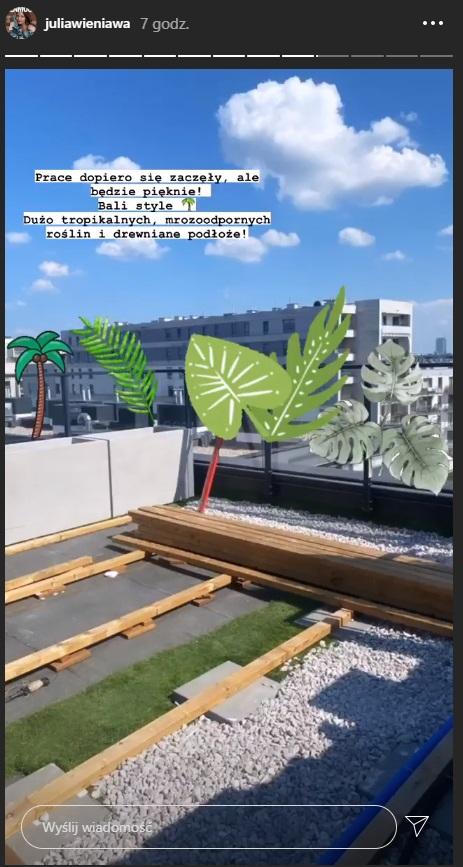 Julia Wieniawa projekt nowego apartamentu
