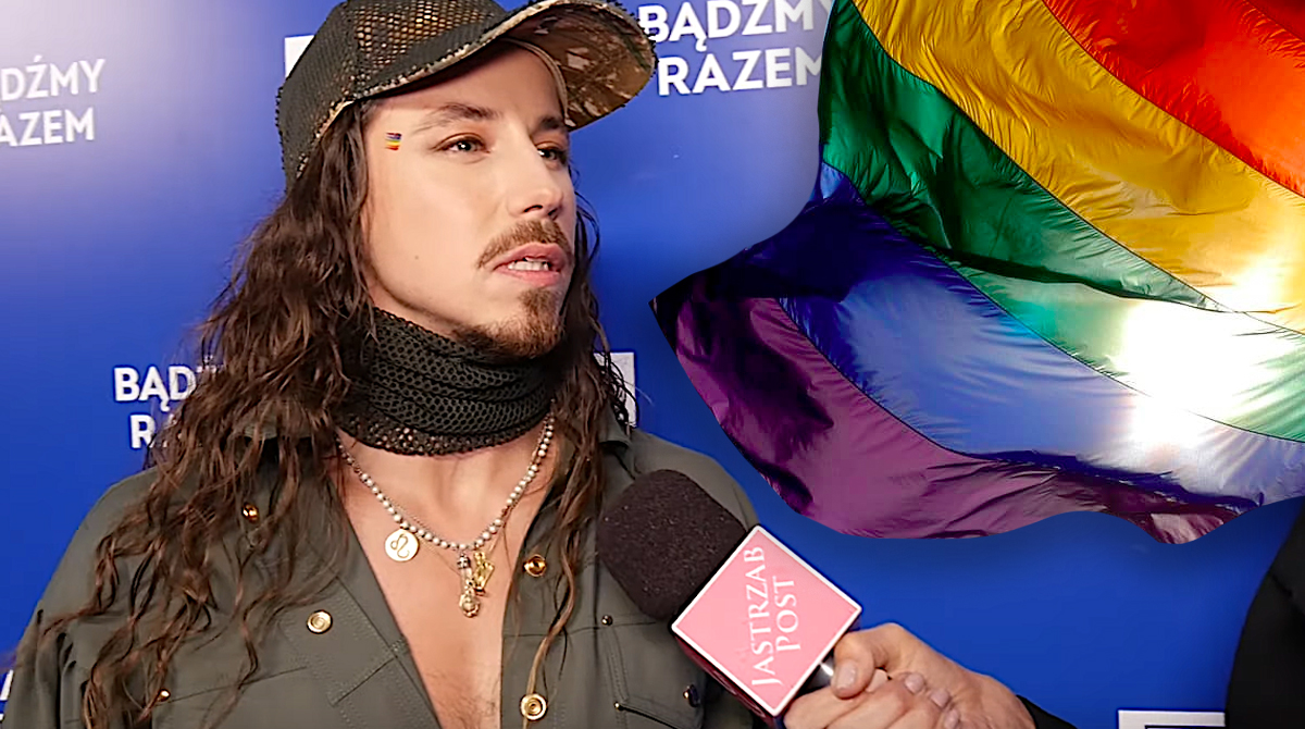Michał Szpak wspiera LGBT