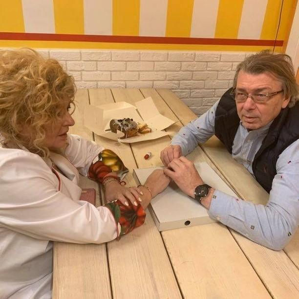 Magda Gessler i Waldemar Kozerawski w Kuchennych rewolucjach