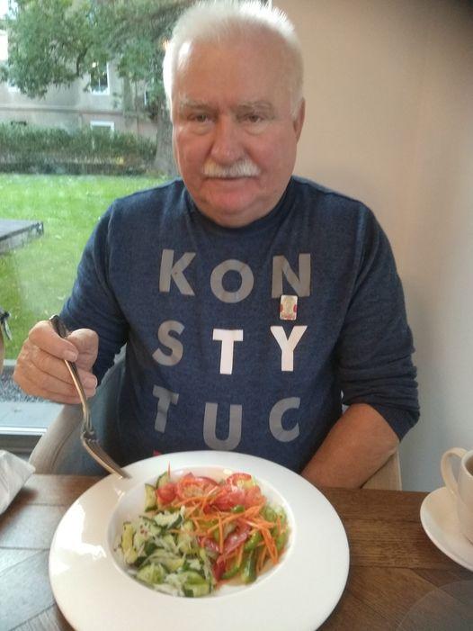 Lech Wałęsa na diecie