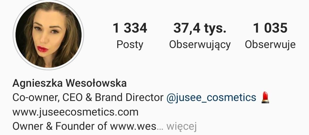 Agnieszka Wesołowska współtworzy Jusee