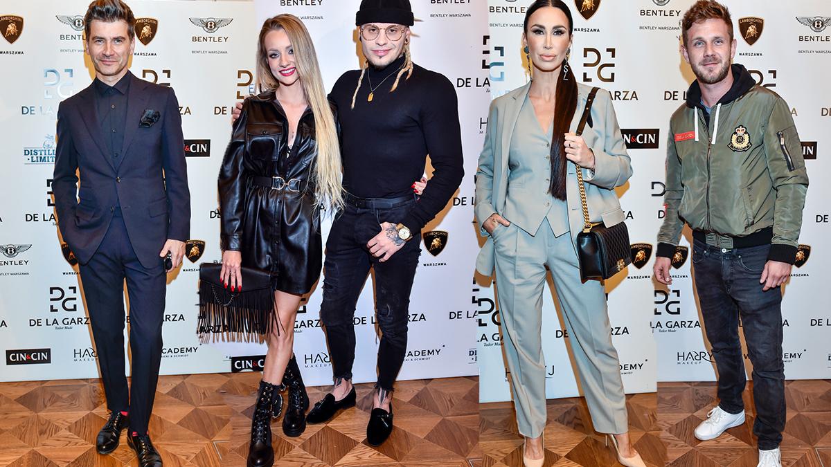 Gwiazdy na pokazie mody Rodrigo De La Garza
