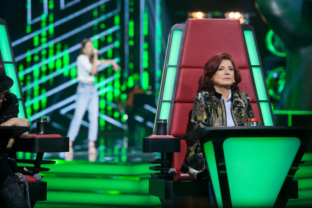 Urszula Dudziak w The Voice of Poland 11