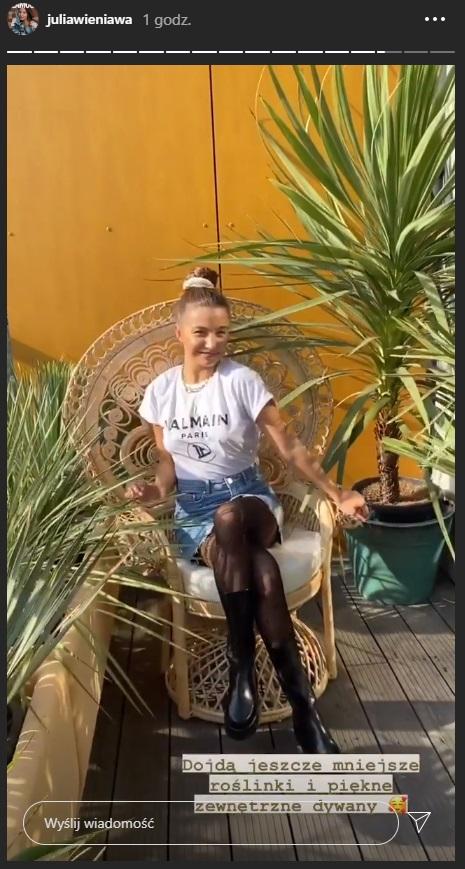 Julia Wieniawa urządza nowe mieszkanie z Marcinem Tyszką