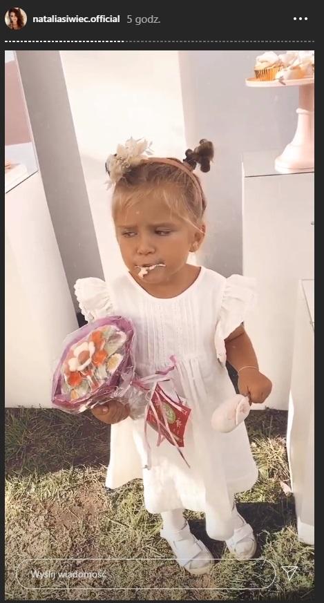 Urodziny córki Natalii Siwec