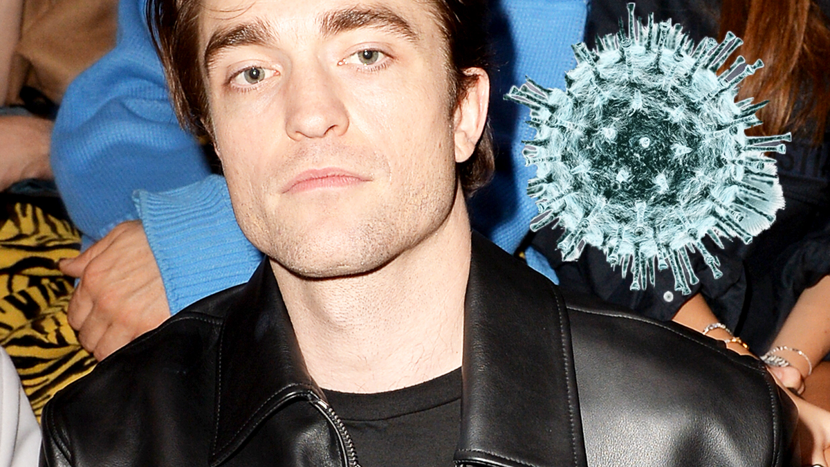 Robert Pattinson ma koronawirusa