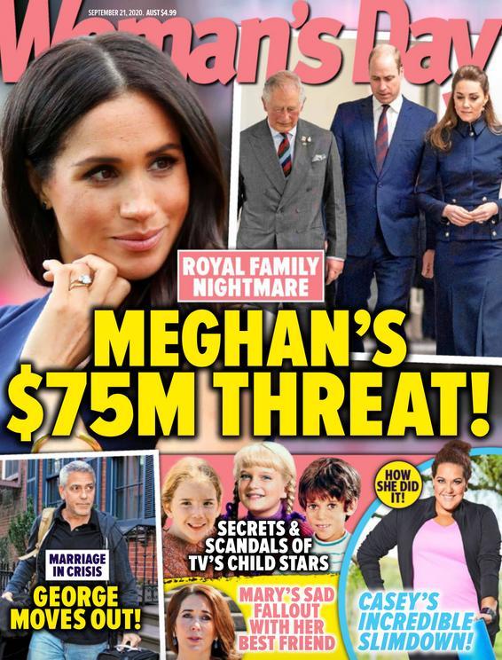 Meghan Markle grozi rodzinie królewskiej