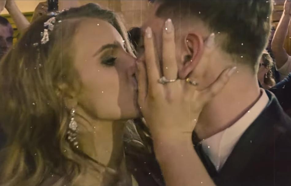 Ślub Daniela Martyniuka i Eweliny (fot. YouTube)