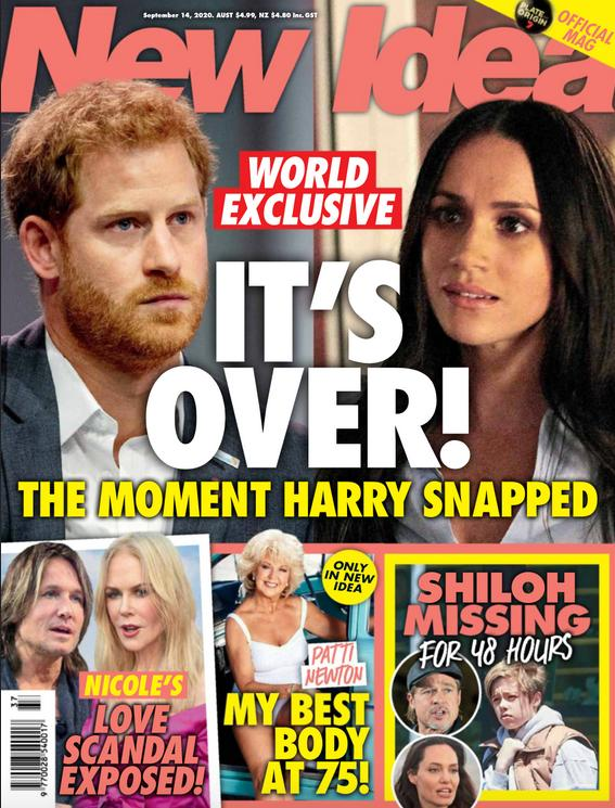 New Idea ogłasza koniec małżeństwa Harry'ego i Meghan