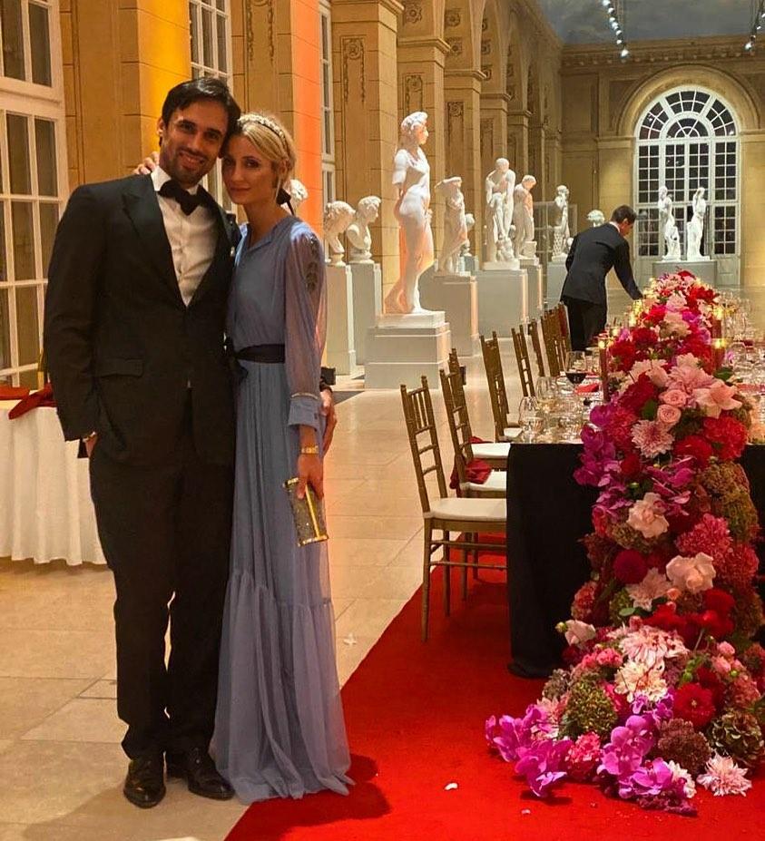 Zdjęcie (1) Nowe zdjęcia ze ślubu Zosi Ślotały i Kamila Haidara. Dopiero teraz widać, jak bardzo luksusowe było wesele