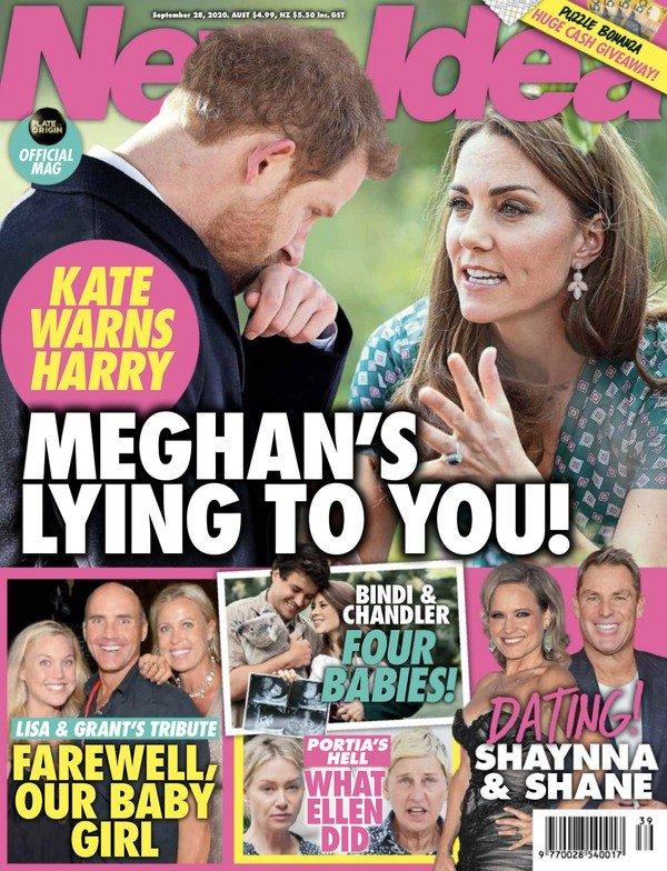 Księżna Kate chce ostrzec księcia Harry'ego