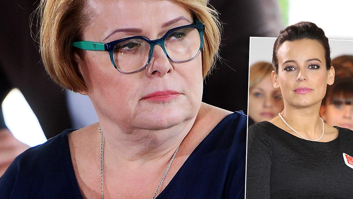 Ilona Łepkowska i Anna Mucha