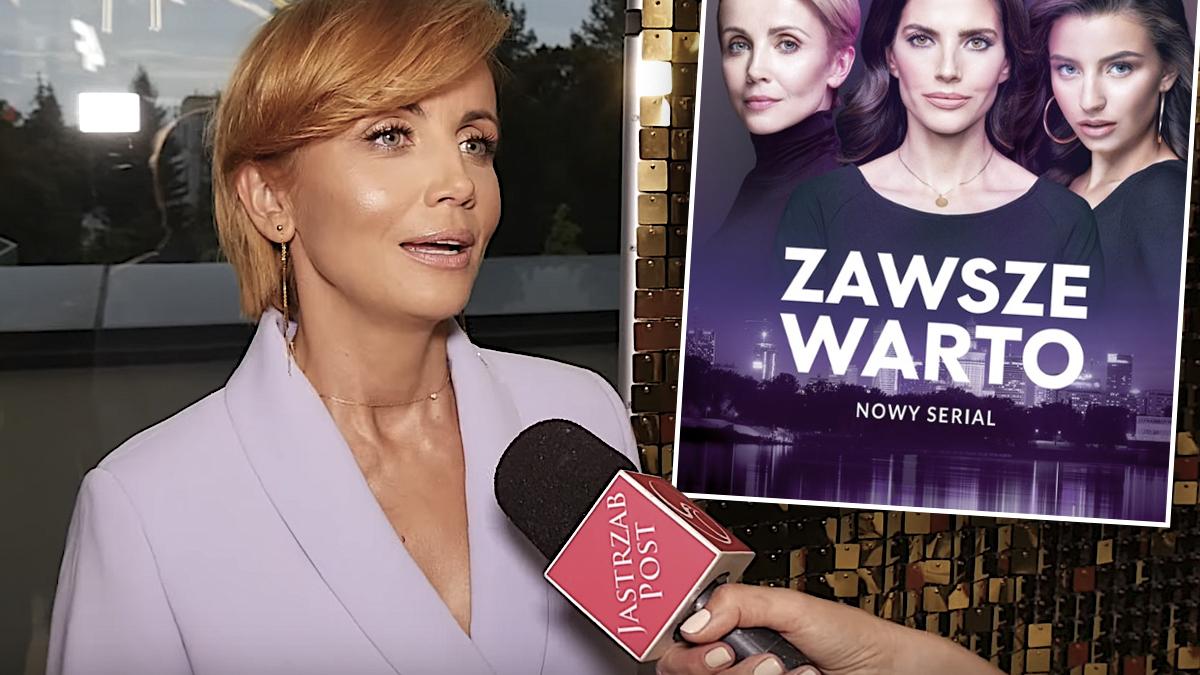 Katarzyna Zielińska o powrocie serialu Zawsze warto