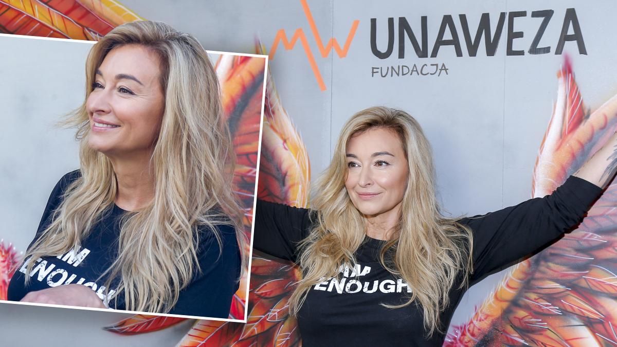 Martyna Wojciechowka – otwarcie fundacji UNEWAZA