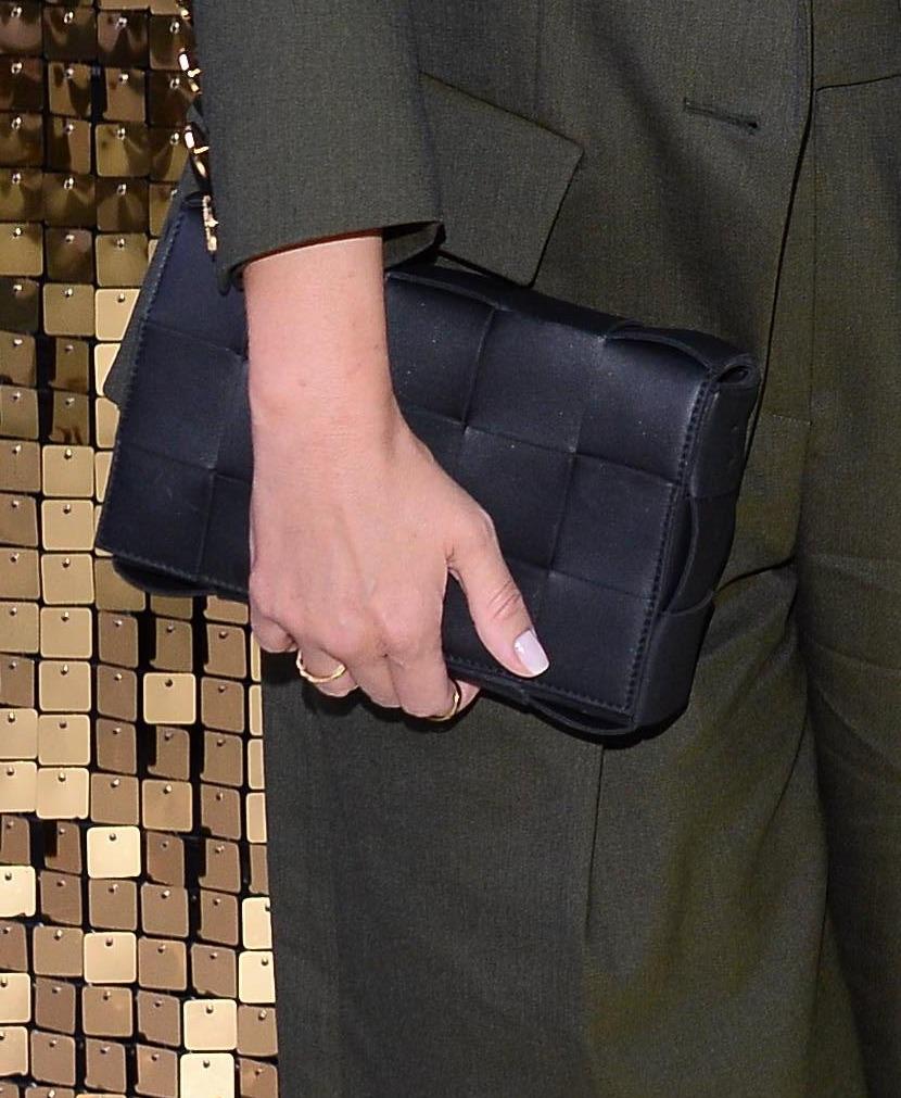 Zdjęcie (1) Małgorzata Rozenek z hitową torebką na jesień. Nie jest tania, ale za to jaka piękna