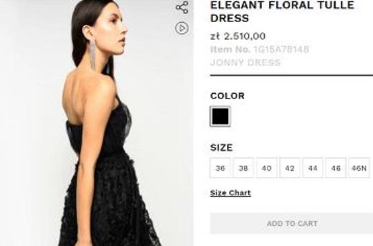 Zdjęcie (5) Weronika Rosati w sukience z sieciówki zrobiła furorę na festiwalu w Wenecji! Ile kosztuje to cudo?