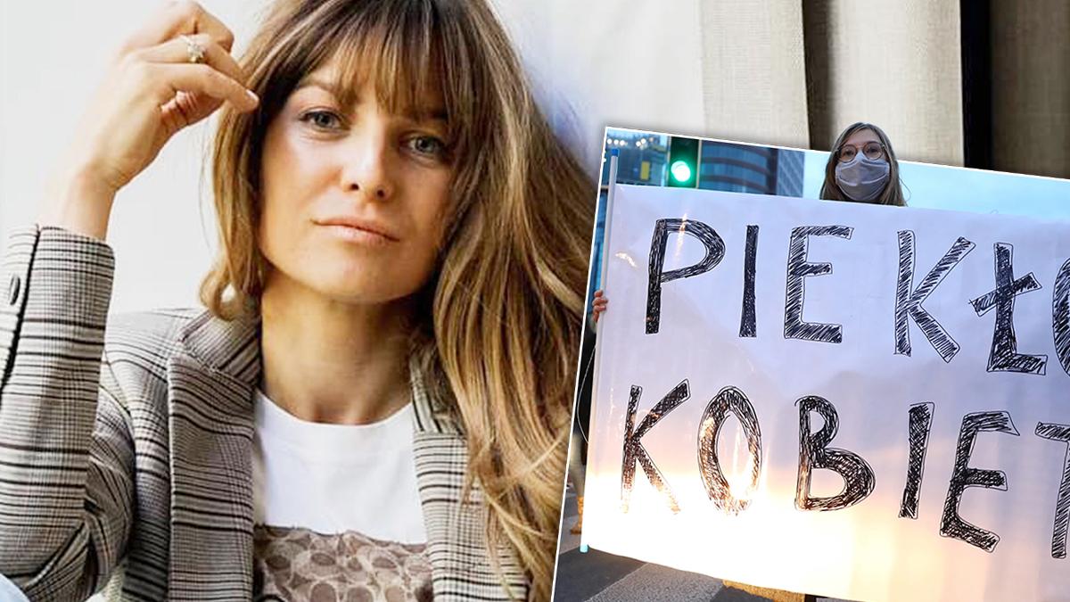 Anna Lewandowska wspiera Strajk Kobiet