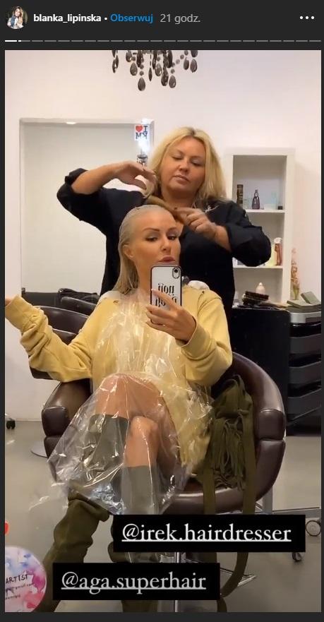 Blanka Lipińska zmienieła fryzurę