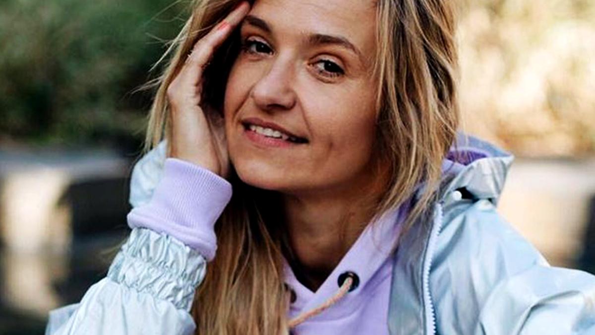 Joanna Koroniewska na zdjęciach z mamą