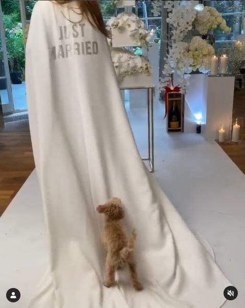 Joanna Przetakiewicz trzecia suknia ślubna