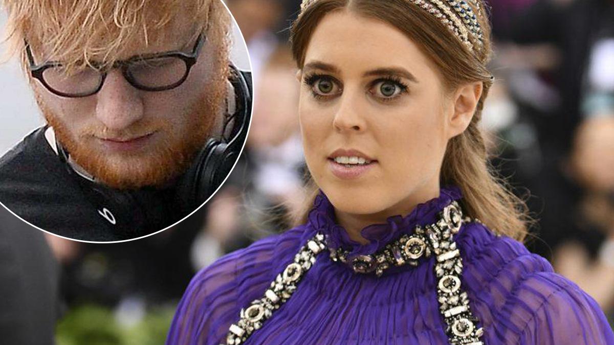 Księżniczka Beatrice i Ed Sheeran