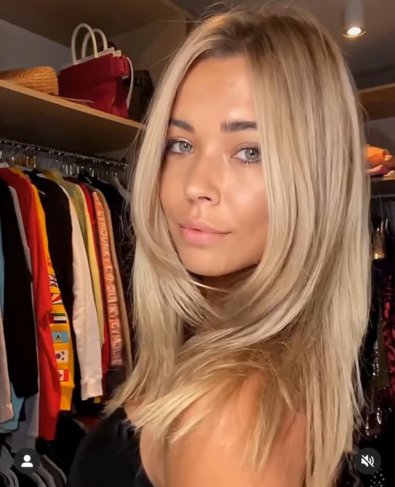 Sandra Kubicka w nowym kolorze włosów