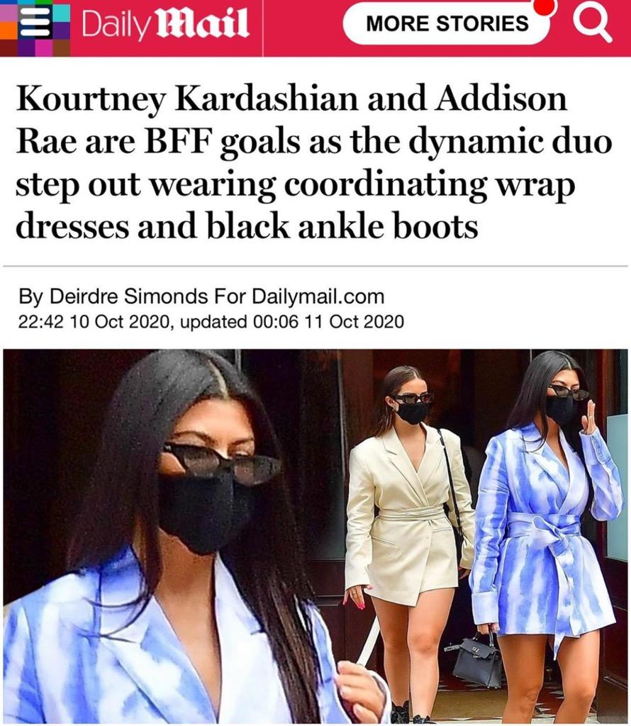 Zdjęcie (7) Kardashianka w kreacji od Maffashion. Wielki sukces polskiej blogerki i projektantki