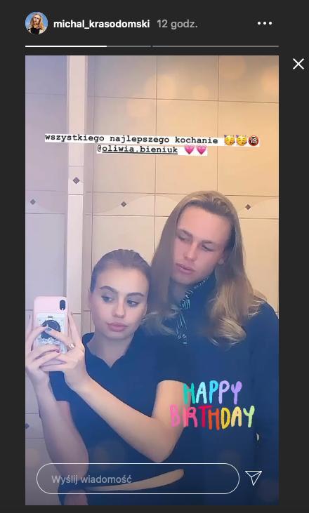Oliwia Bieniuk i Michał Krasodomski są parą