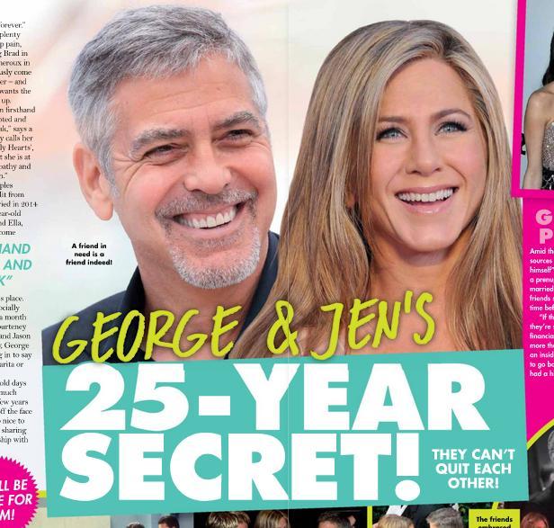 Jennifer Aniston i George Clooney mieli wspólny sekret?