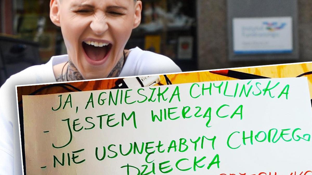 Agnieszka Chylińska o aborcji