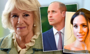 Camilla Parker-Bowles, William, Meghan