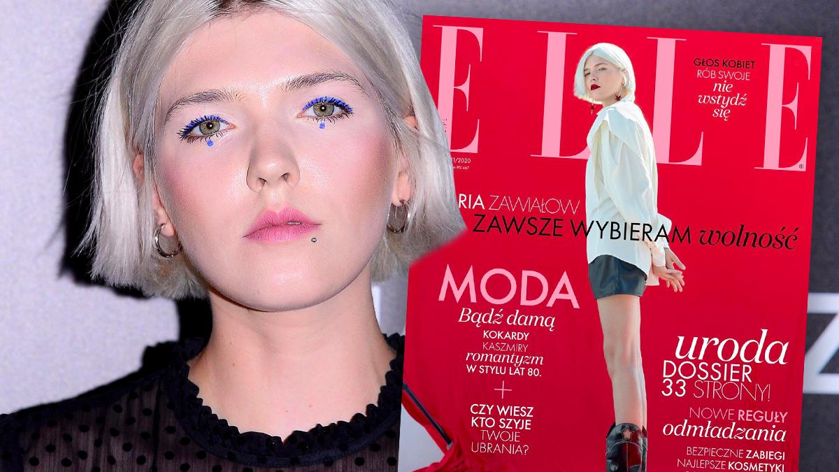 Daria Zawiałow w Elle