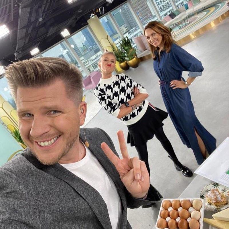 Filip Chajzer i Anna Kalczyńska w Dzień Dobry TVN