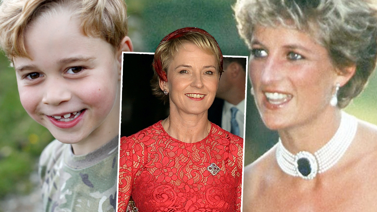Książę George, księżna Diana, Julia Samuel
