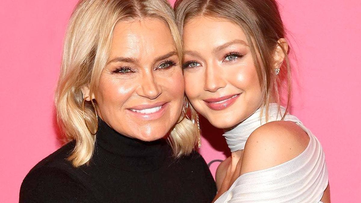 Yolanda Hadid z córką Gigi