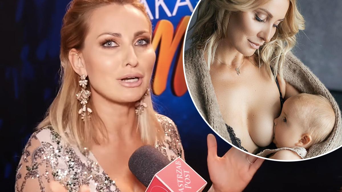 Joanna Moro o karmieniu piersią