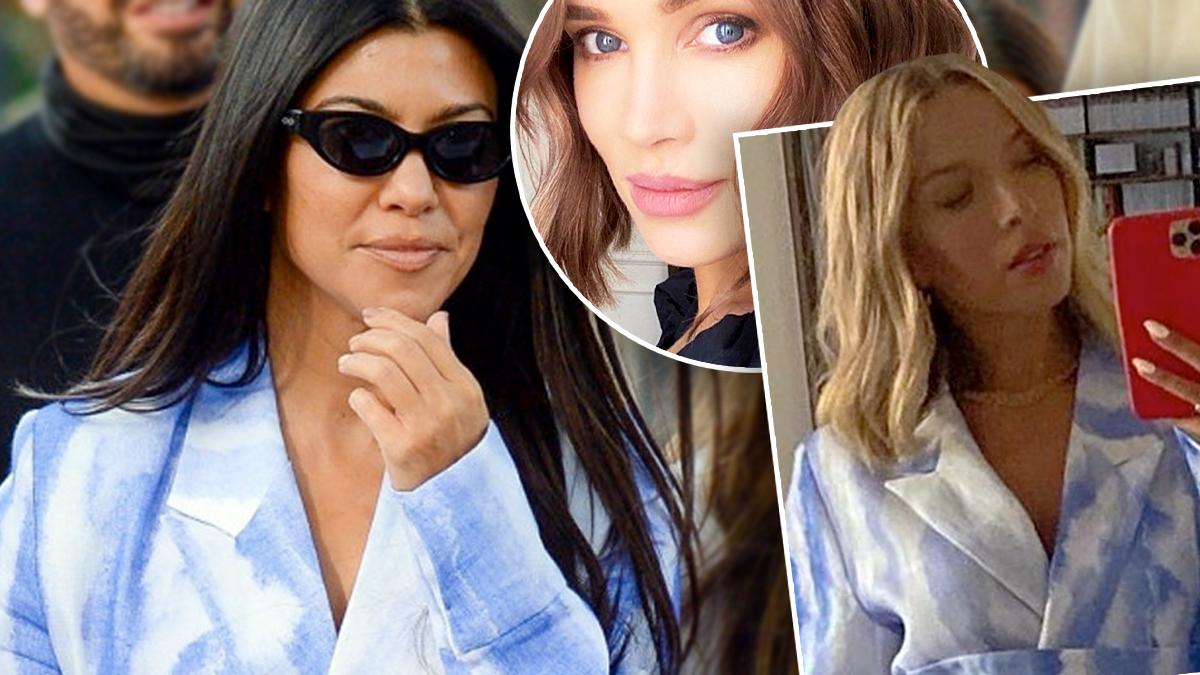 Kourtney Kardashian i Ewa Chodakowska