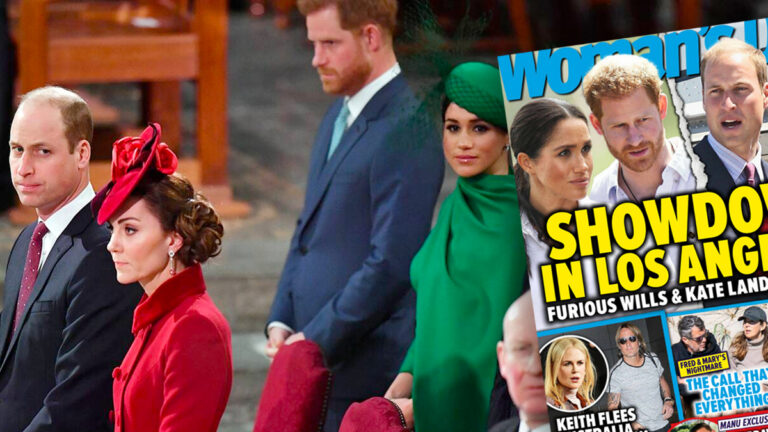 Kate i William, Meghan i Harry