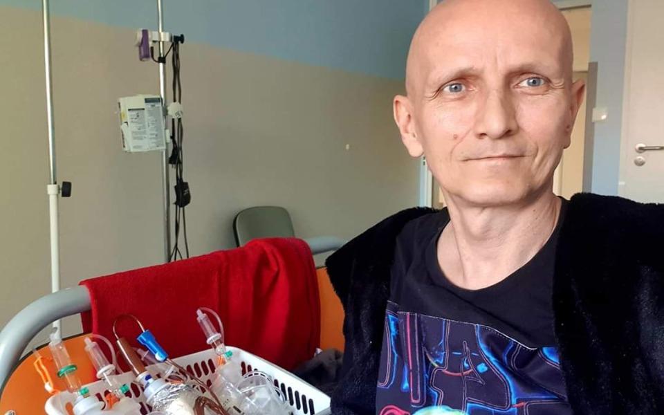Piotr Krajewski ma raka