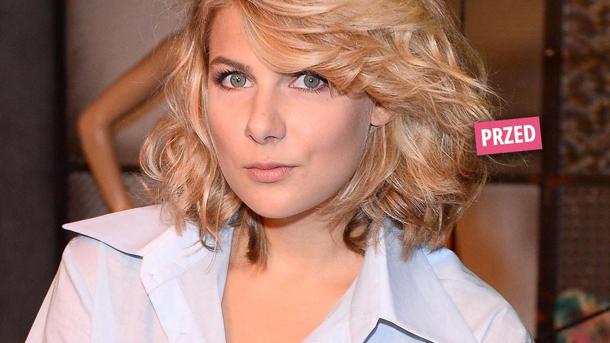 Marta Wierzbicka fryzura